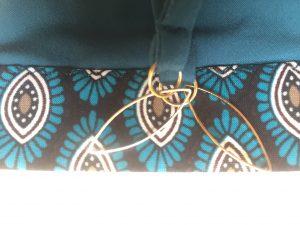 Bikini türkis detail